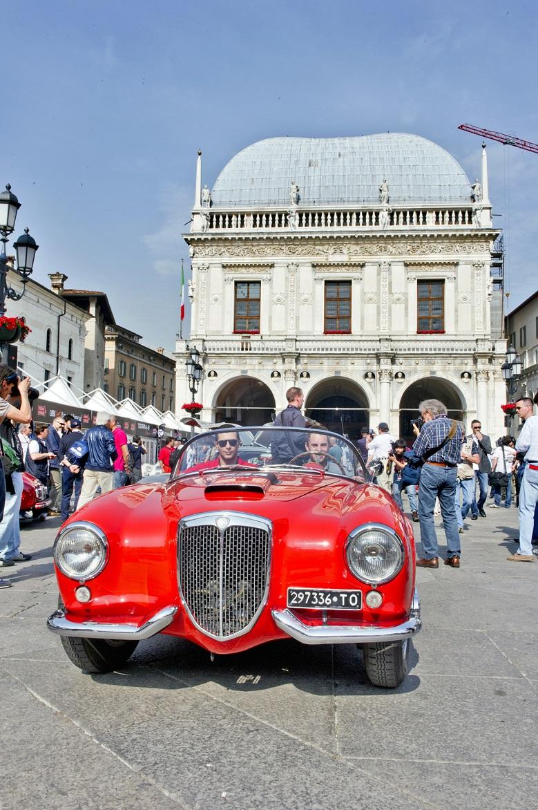 Mille Miglia - Piazza della Loggia, Brescia